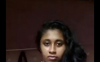 South Indian mallu girl Anjusha self made clip leaked by say no to bf
