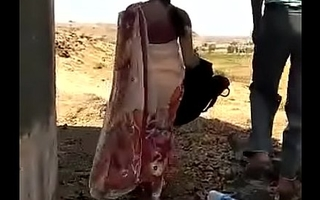 Desi Indian aunty fucking outside