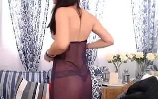 LittleTeenBB Riley strips involving underwear, dances, in bra and panties