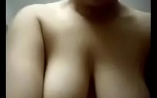 Desi Indian Busty girl enjoying with boyfriend at Home