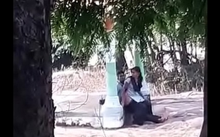 Indian code of practice girl fucked in park
