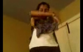 Indian teen playgirl and her big bowels filmed on camindianindian