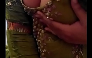 Sexy Desi Indian Babe stripped herself, stirring will not hear of nude Boobs be worthwhile for lover on Webcam