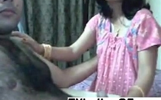 Untrained Indian couple having fun