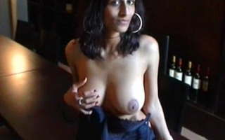 Indian generalized amrita showing boobs for money in USA