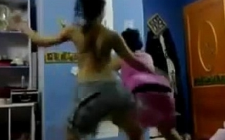 indian arab amateur dancing